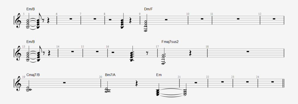 AlgeRNon Synth Chords