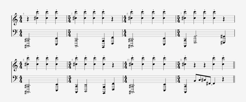 Raak piano intro